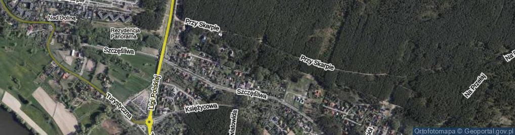 Zdjęcie satelitarne Mistrza Twardowskiego ul.