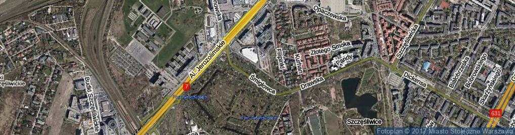 Zdjęcie satelitarne Mierzejewskiego Henryka ul.