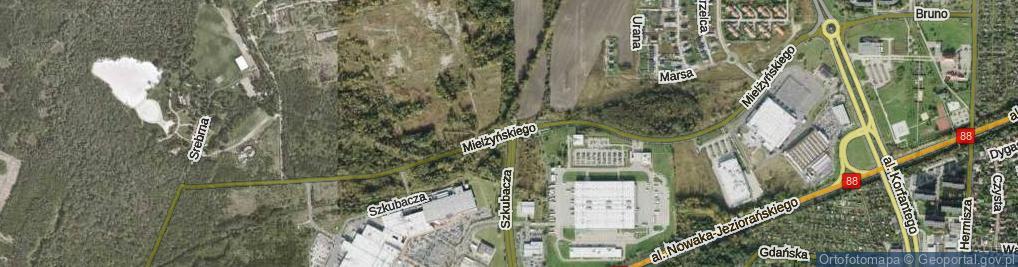 Zdjęcie satelitarne Mielżyńskiego Macieja ul.