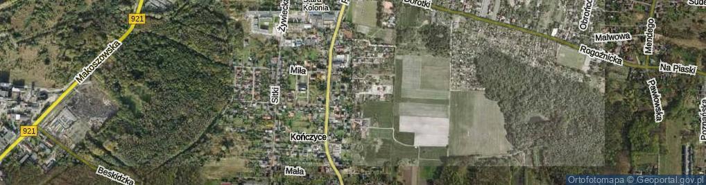 Zdjęcie satelitarne Mikusza Piotra ul.