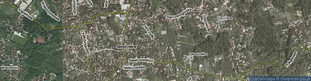 Zdjęcie satelitarne Moczydło ul.