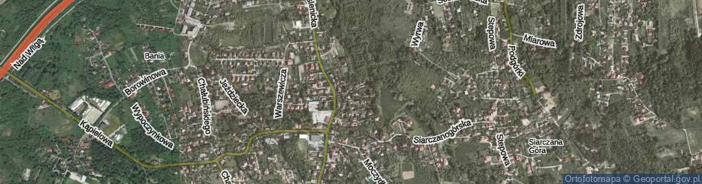 Zdjęcie satelitarne Morozewicza Józefa ul.