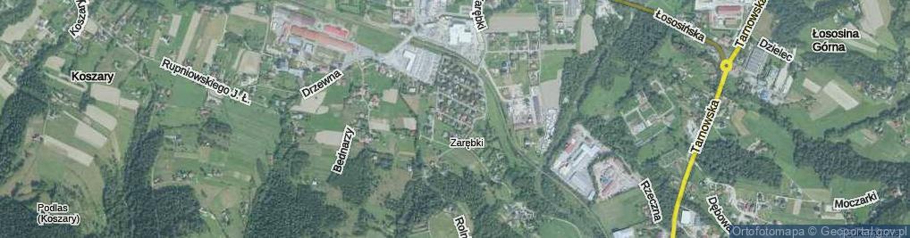 Zdjęcie satelitarne Modrzejewskiej Heleny ul.