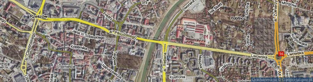 Zdjęcie satelitarne Most Lwowski most.