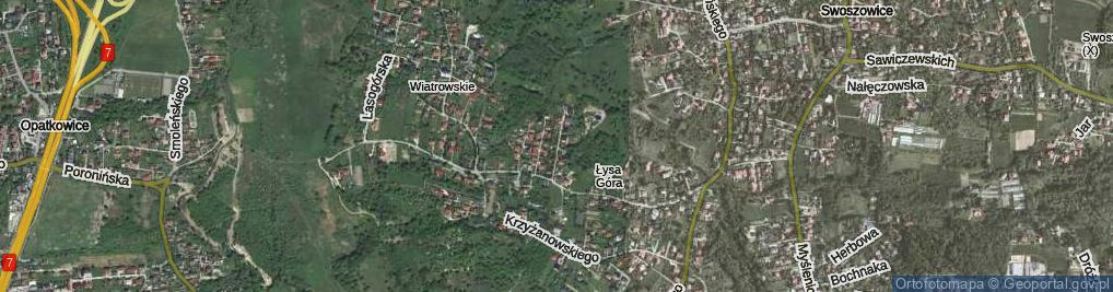 Zdjęcie satelitarne Muszyńskiego Jana ul.