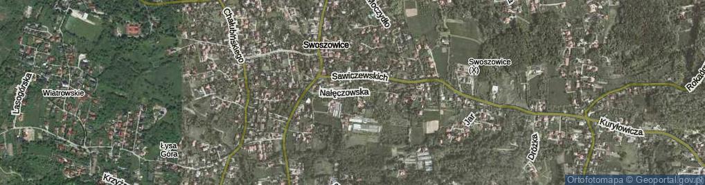 Zdjęcie satelitarne Nałęczowska ul.