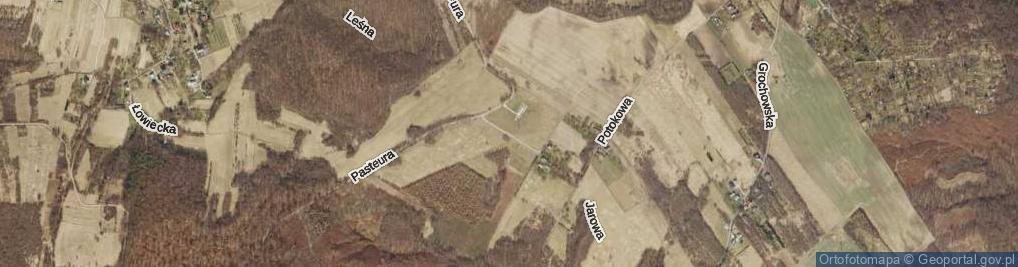 Zdjęcie satelitarne Na Zawadach ul.