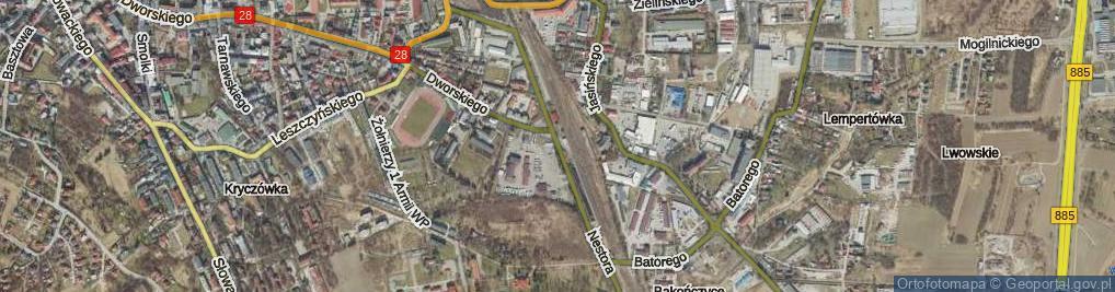 Zdjęcie satelitarne Nestora ul.