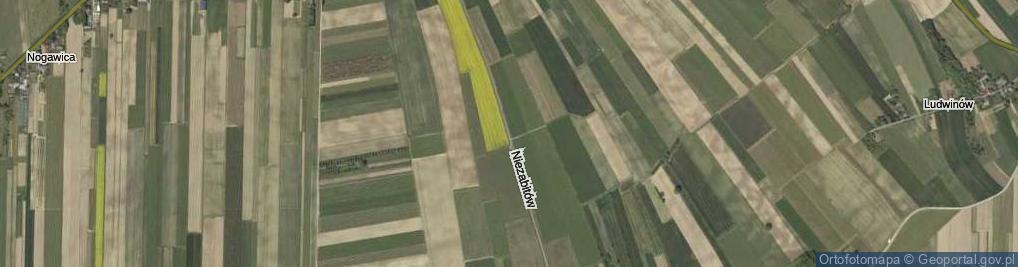 Zdjęcie satelitarne Niezabitów ul.
