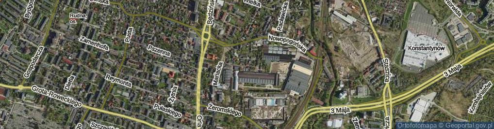 Zdjęcie satelitarne Niewielka ul.