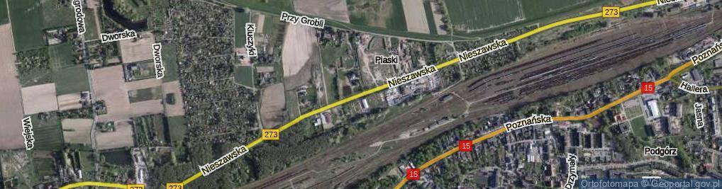 Zdjęcie satelitarne Nieszawska ul.