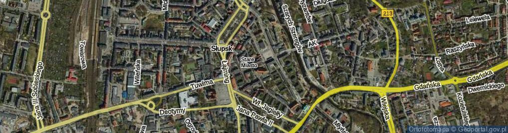 Zdjęcie satelitarne Nowobramska ul.