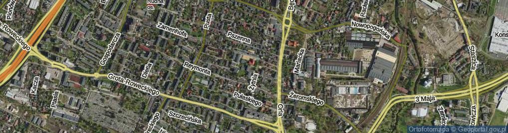 Zdjęcie satelitarne Nowy Plac pl.