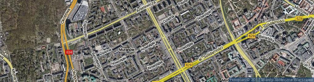 Zdjęcie satelitarne Nowolipki ul.