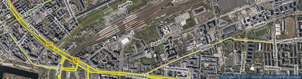 Zdjęcie satelitarne Nowińska ul.