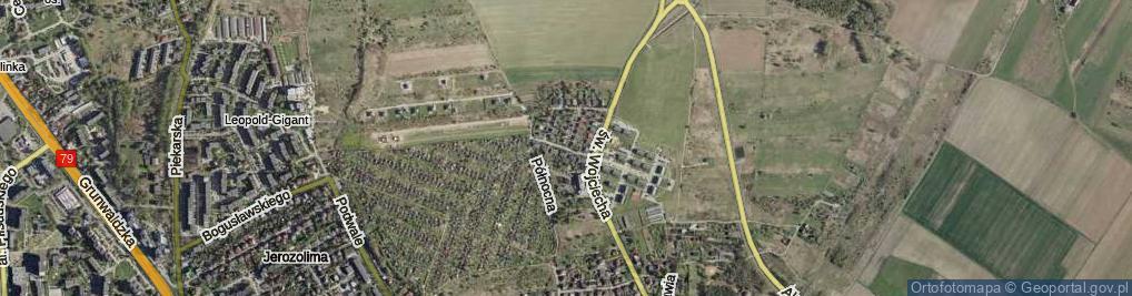 Zdjęcie satelitarne Nullo Francesco, płk. ul.