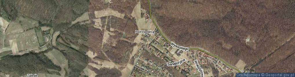 Zdjęcie satelitarne Obronna ul.
