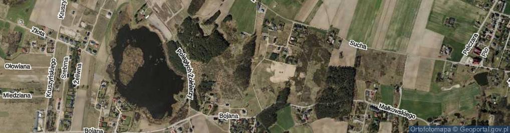 Zdjęcie satelitarne Olechnowicza Antoniego ul.