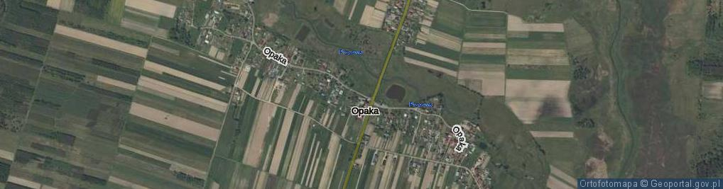 Zdjęcie satelitarne Opaka ul.