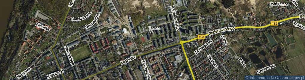 Zdjęcie satelitarne Osińskiego Pawła ul.