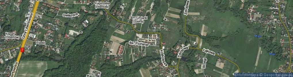 Zdjęcie satelitarne Osiedle Dębowe os.