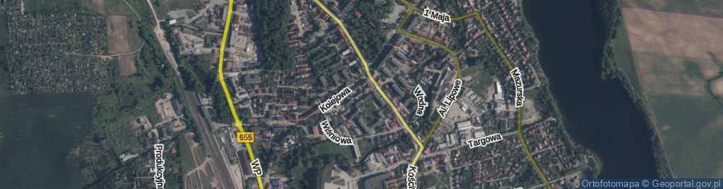 Zdjęcie satelitarne Osiedle nad Legą os.