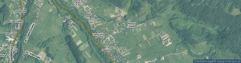 Zdjęcie satelitarne Osiedle Młocki Dolne os.