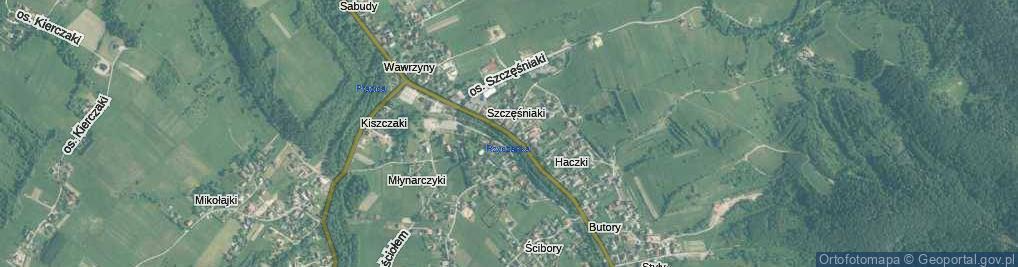 Zdjęcie satelitarne Osiedle Szczęśniaki os.