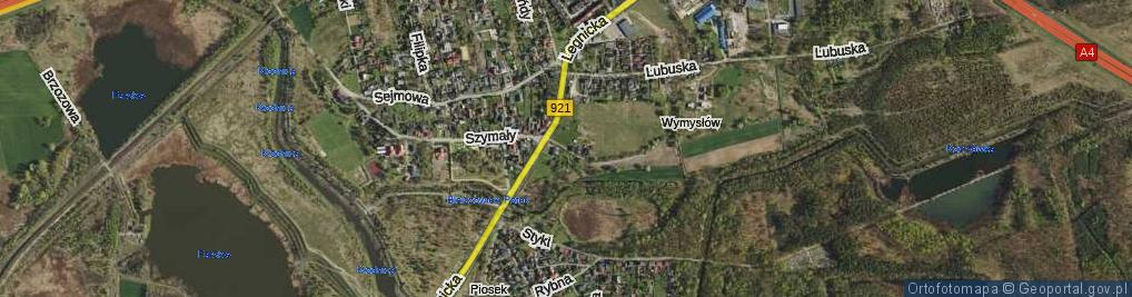 Zdjęcie satelitarne Oszka Roberta ul.