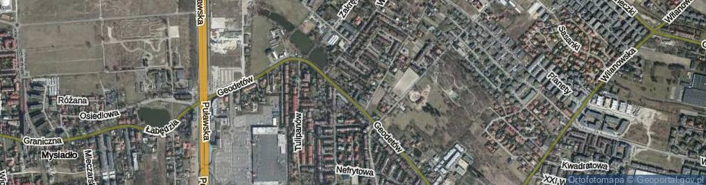 Zdjęcie satelitarne Ottawy ul.