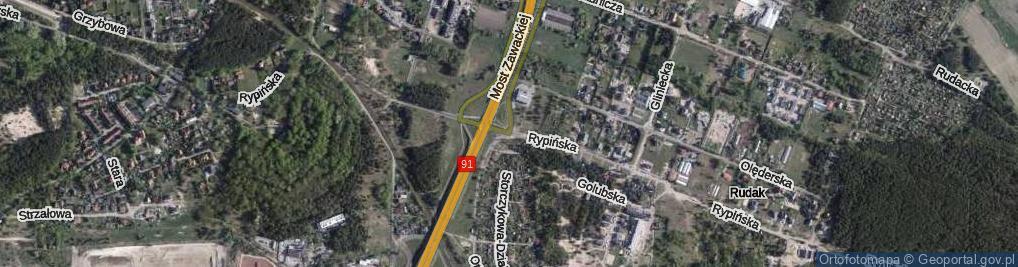 Zdjęcie satelitarne Otłoczyńska ul.