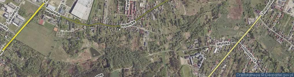 Zdjęcie satelitarne Owalna ul.