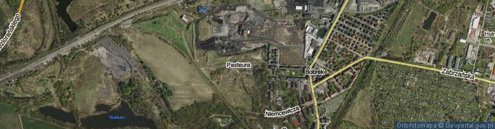 Zdjęcie satelitarne Pasteura Ludwika ul.