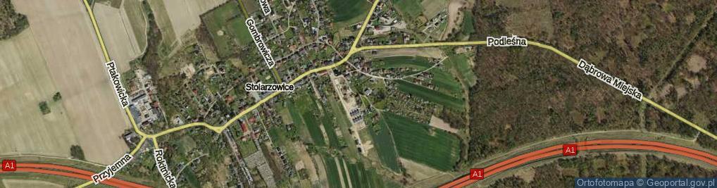 Zdjęcie satelitarne Paczyńska ul.