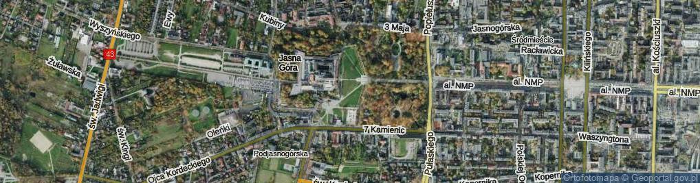 Zdjęcie satelitarne Pasaż Bareły Stefana, bp. ul.