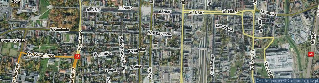 Zdjęcie satelitarne Pasaż Opolczyka ul.