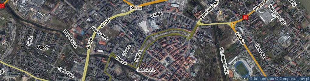 Zdjęcie satelitarne Parczewskiego Alfonsa ul.