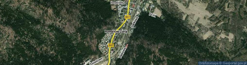 Zdjęcie satelitarne Park Obrońców Westerplatte park.