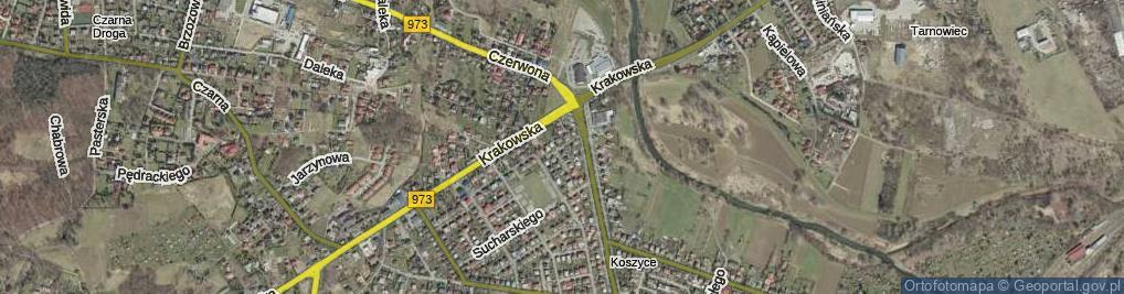 Zdjęcie satelitarne Pawłowskiego Józefa ul.