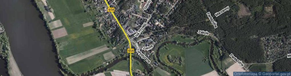 Zdjęcie satelitarne Pana Kleksa ul.