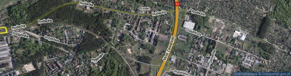 Zdjęcie satelitarne Pana Wołodyjowskiego ul.