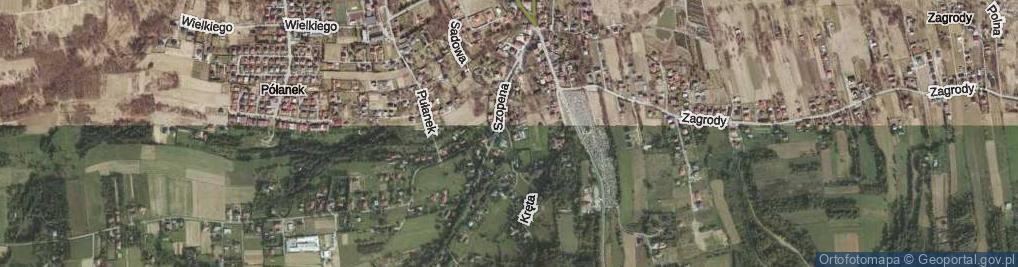 Zdjęcie satelitarne Partyzantów ul.