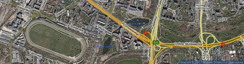 Zdjęcie satelitarne Pallutha Antoniego ul.