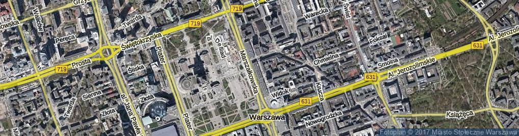 Zdjęcie satelitarne Pasaż Wiecheckiego Stefana ul.
