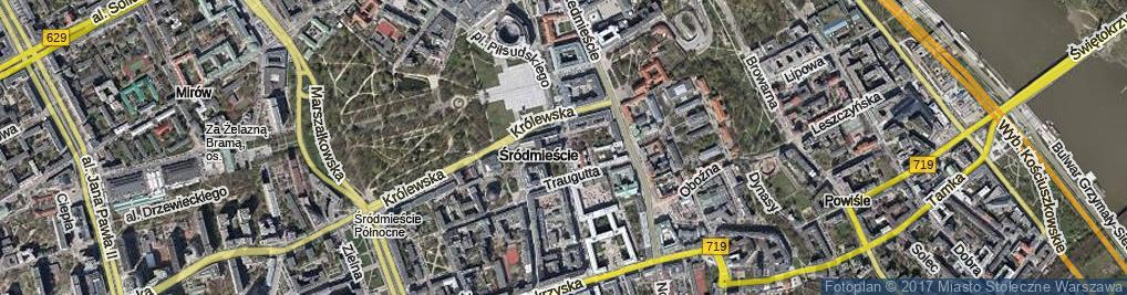 Zdjęcie satelitarne Pasaż Niżyńskiego Wacława ul.