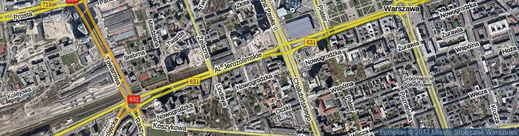 Zdjęcie satelitarne Pasaż Braci Łopieńskich ul.