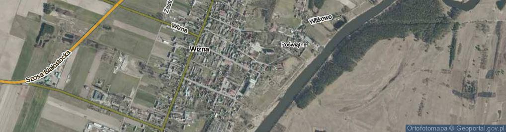 Zdjęcie satelitarne Pawła z Wizny ul.