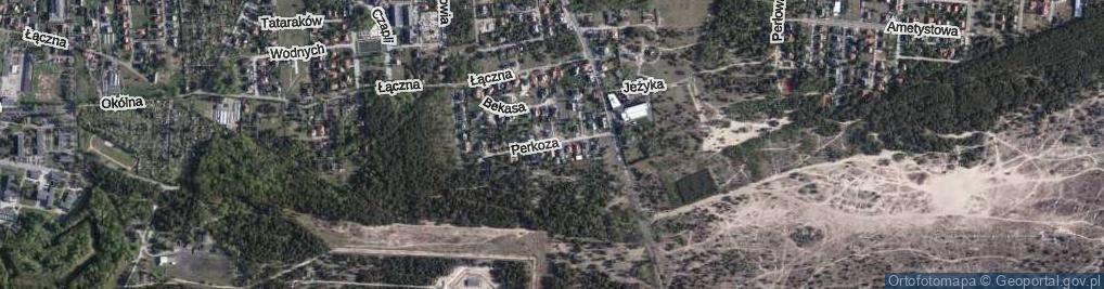 Zdjęcie satelitarne Perkoza ul.