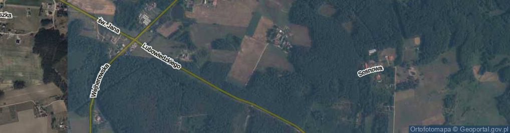 Zdjęcie satelitarne Piaskowa ul.