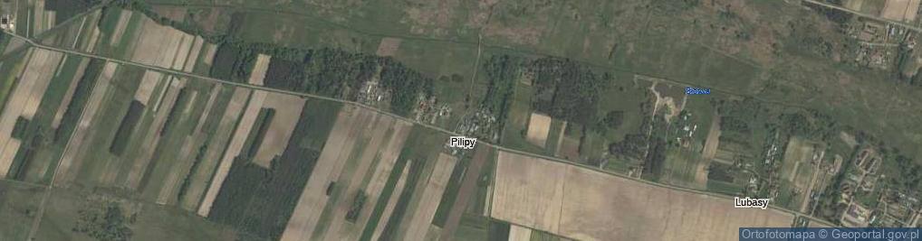 Zdjęcie satelitarne Pilipy ul.